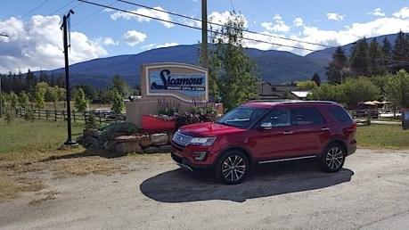 2016 Ford Explorer Platinum Adventure Tour - Kamloops to Calgary - The Calgary Stampede - 20150902_103240