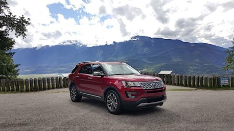 2016 Ford Explorer Platinum Adventure Tour - Kamloops to Calgary - The Calgary Stampede - 20150902_135108