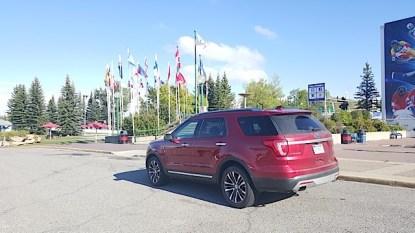 2016 Ford Explorer Platinum Adventure Tour - Kamloops to Calgary - The Calgary Stampede - 20150903_171911