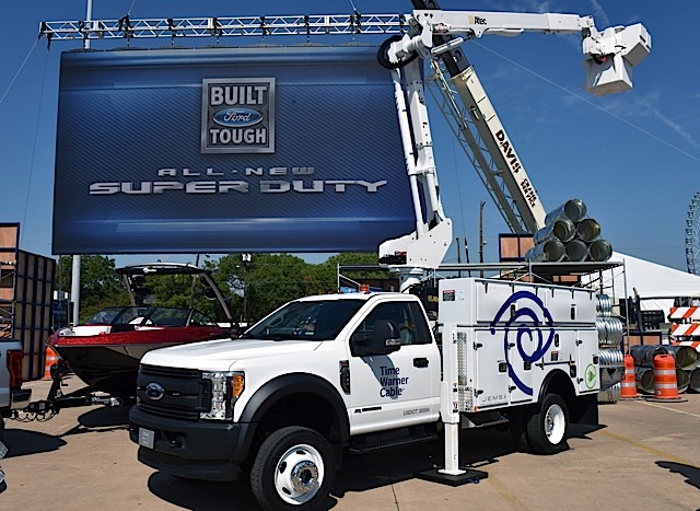 All-new 2017 Ford F-Series Super Duty Texas State Fair