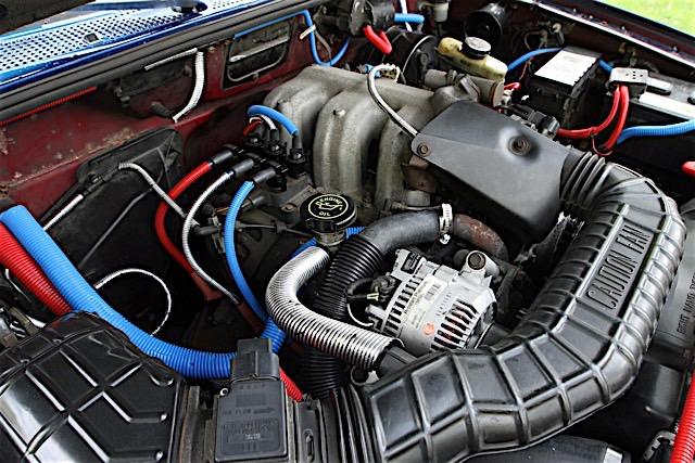 Blind Ford Ranger Engine