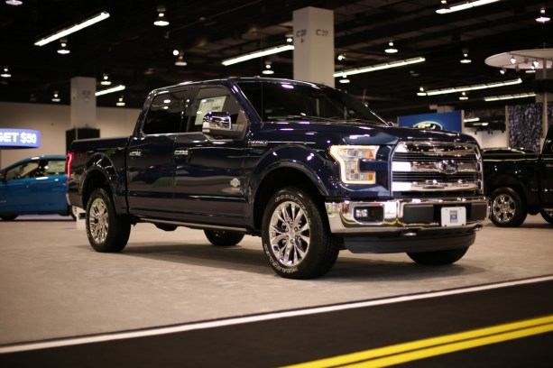 Ford Trucks at the OC Auto Show (1)