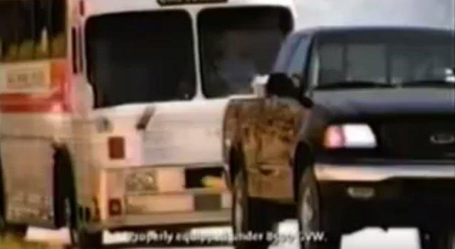 98 f150 pulls bus
