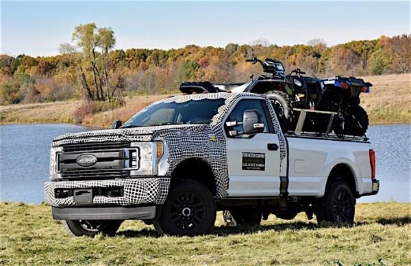 2017 F-Series Super Duty Testing: ATV platform