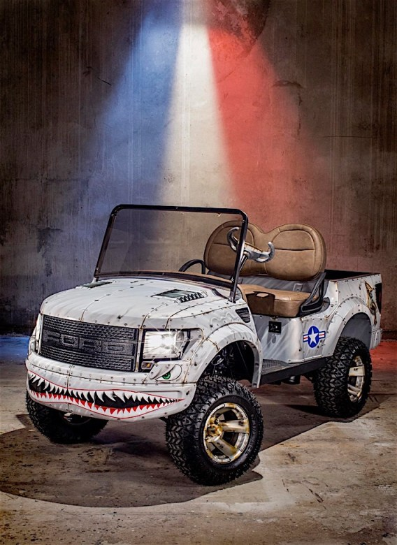 Raptor Golf Cart - 29T9771-Copy