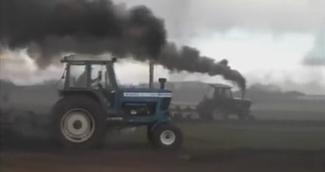 ford tractor race