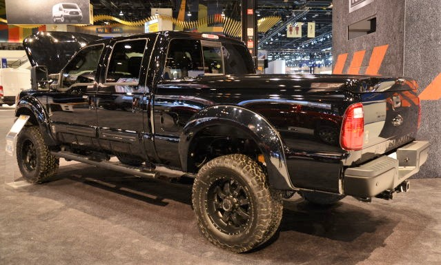 Tuscany Builds A Black Ops F 250 For The Chicago Auto Show Ford