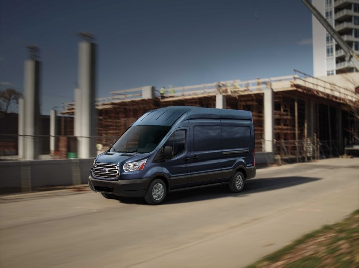 January Sales - Ford Transit 1