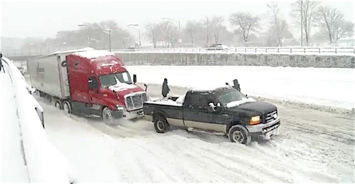 Super Duty Rescue Semi Snow It's a Ford