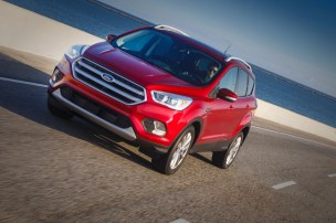 2017 Ford Escape and FordPass 8