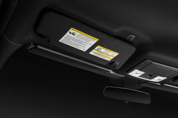 Ford Police Interceptor Utility Visor Light Bar 2