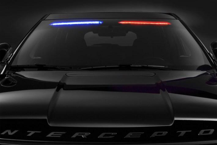 Ford Police Interceptor Utility Visor Light Bar 3