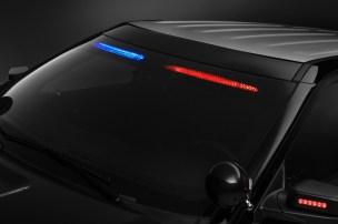 Ford Police Interceptor Utility Visor Light Bar 4