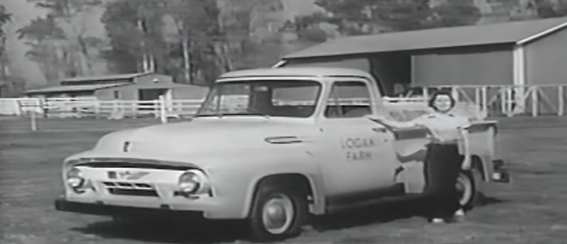 1954 ford truck ad