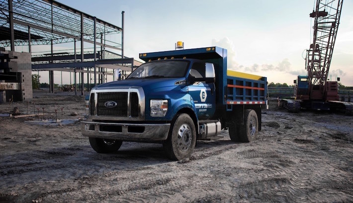 National Tire And Wheel >> What's It Like to Drive a Ford F-650 Dump Truck? - Ford ...