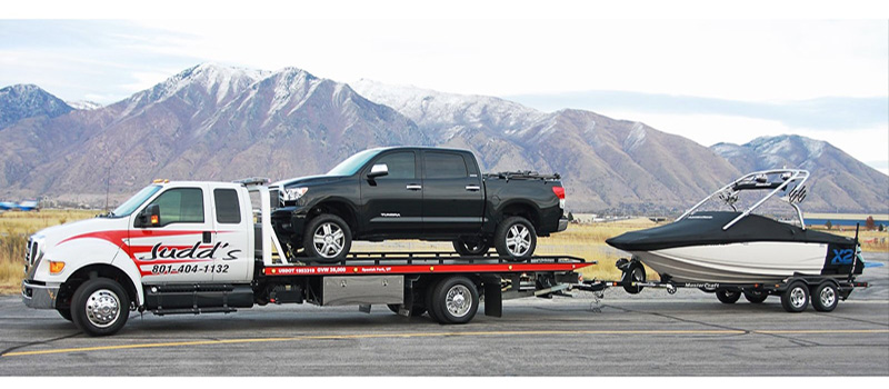 13 Pictures Of Ford Trucks Towing Chevys And Maybe A Toyota Or A