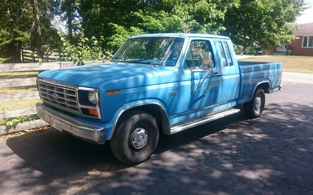 2016 F250 For Sale >> Old Blue! 1983 Ford F-150 SuperCab Build - Ford-Trucks.com