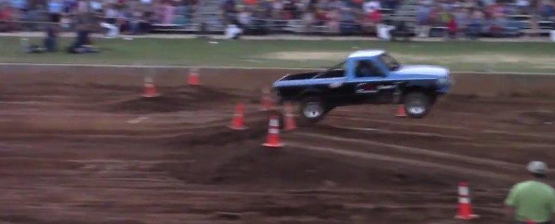 blue ranger tough truck