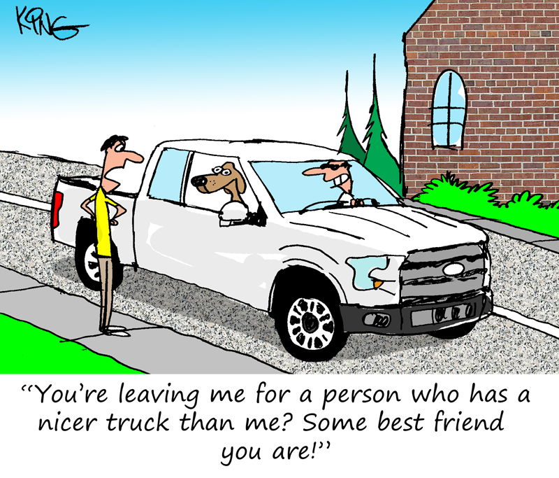 Friday Funnies - Ford Truck Dog Comic