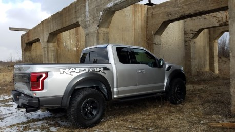 Ford Raptor (rear side)