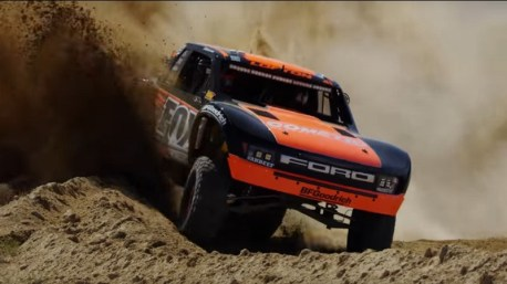 Justin Lofton - Mint 400 - Ford Raptor