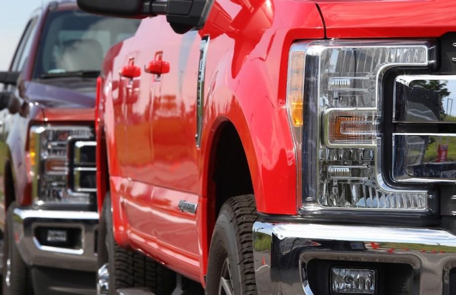 Ford SuperDuty - NHTSA
