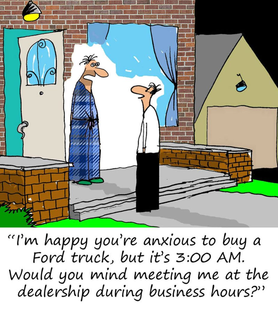 Friday Funnies Anxious Ford Buyer