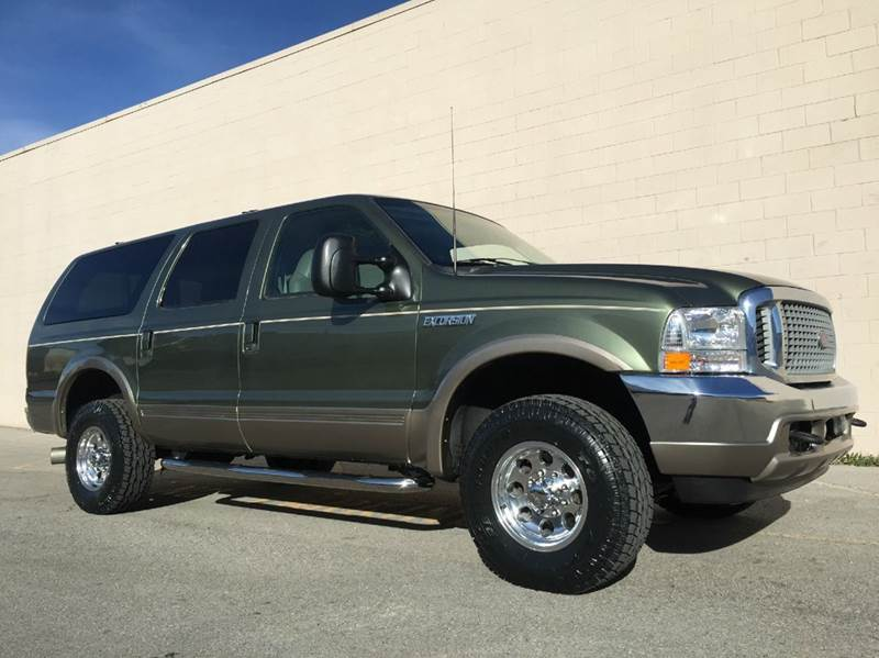 A One Of A Kind Ford Excursion With A Manual Transmission Ford
