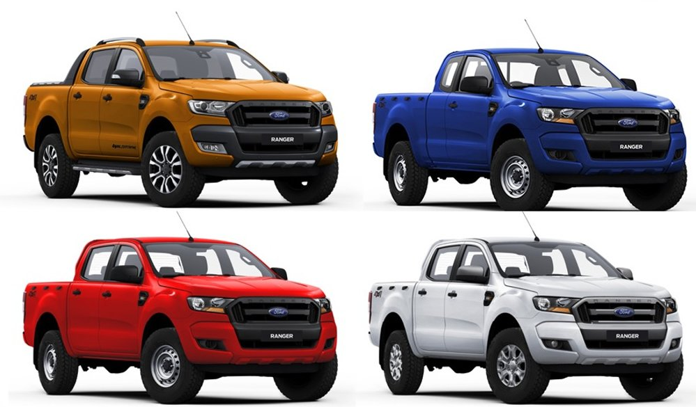 Aussie Ranger Colors on 1994 Ford F 150 Colors