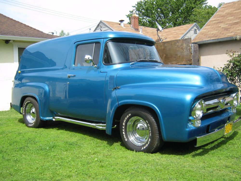 Tricked Out 1956 Ford Panel Truck - Yay or Nay? - Ford-Trucks.com