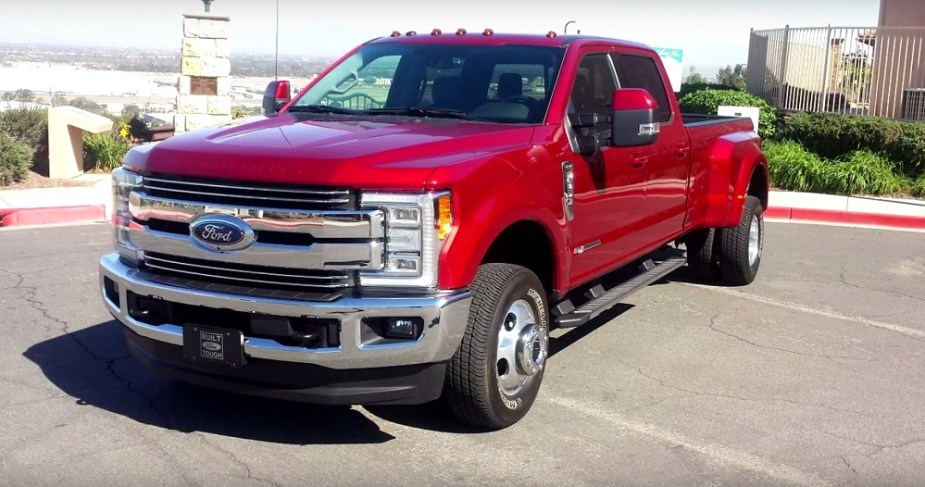 2017 Ford F-350 Super Duty Dually