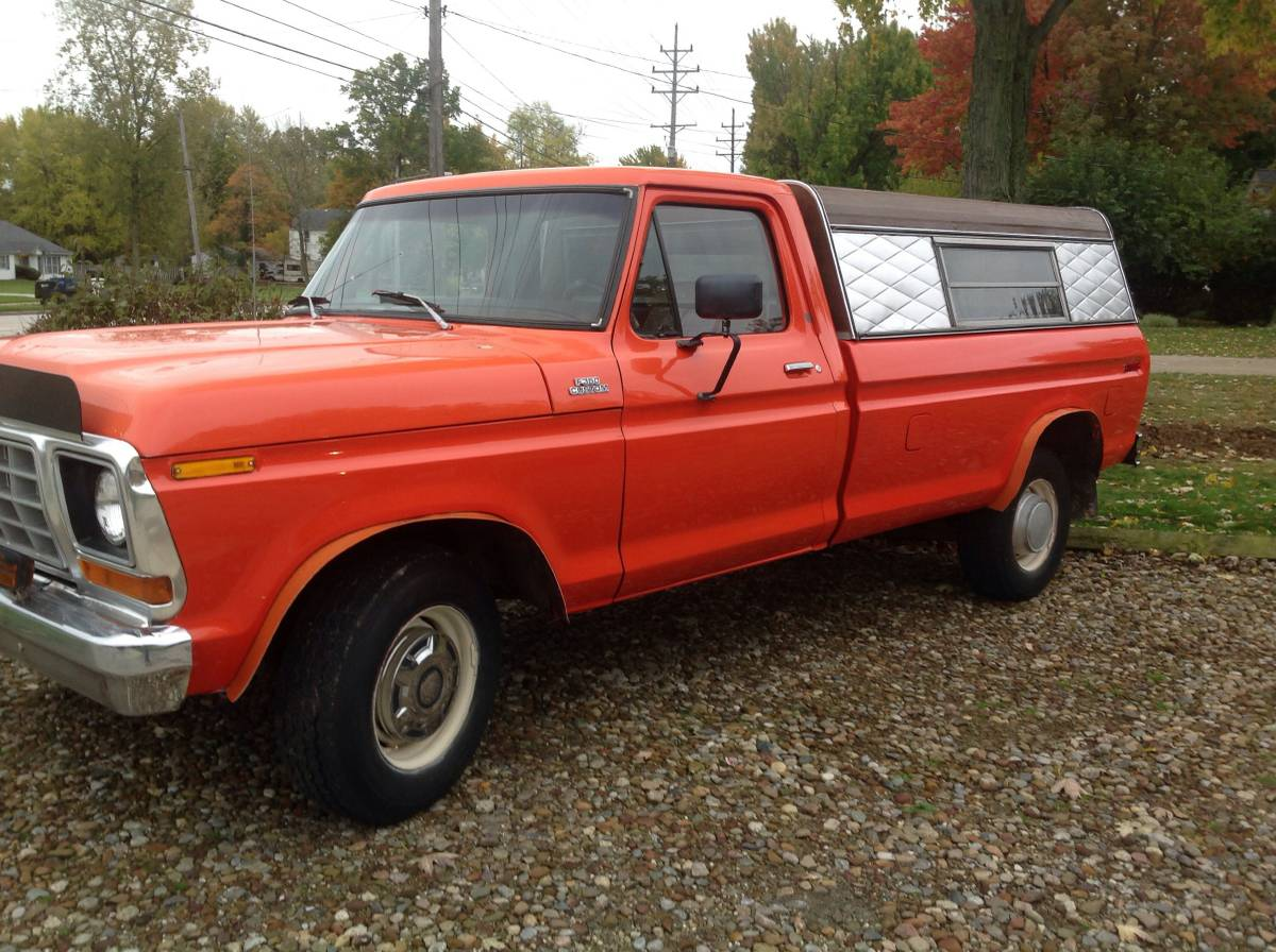 Craigslist Find: 1978 Ford F-350 Camping Truck - Ford-Trucks com