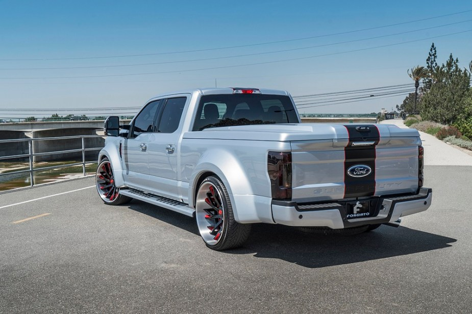 Slammed, Wide Body Ford F-250 Is the Anti-Super Duty - Ford-Trucks com