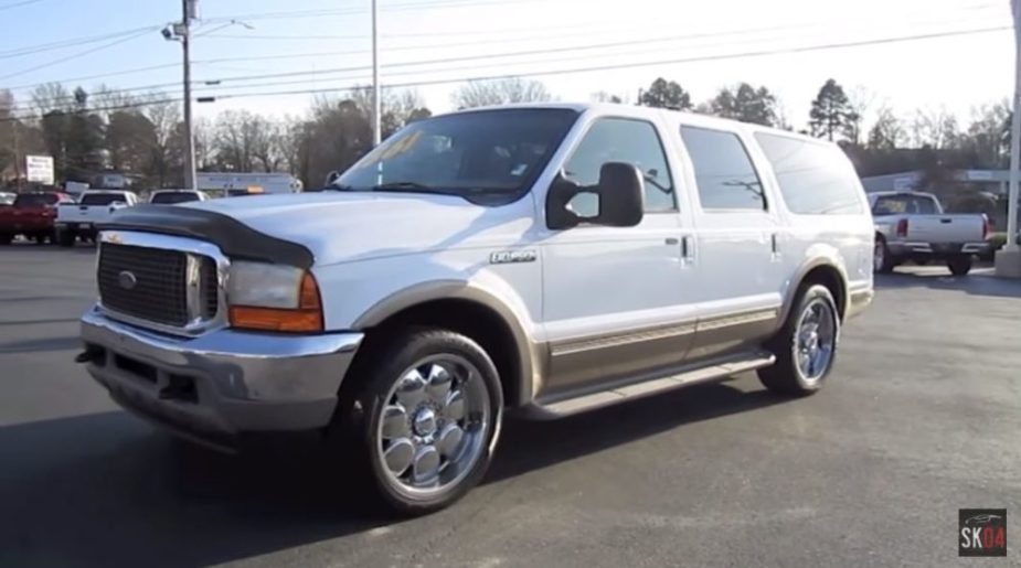 2001 Ford Excursion V10 Limited