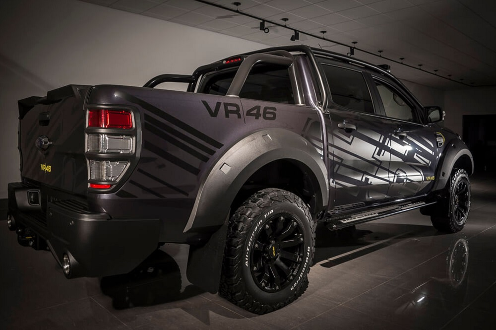 valentino rossi vr ford ranger  perfection ford
