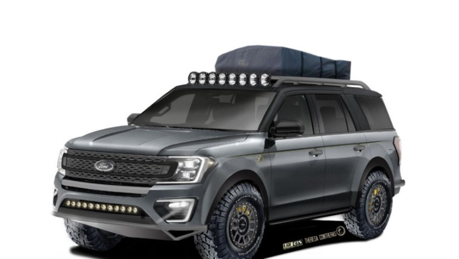 Baja Ford Adventurer Expedition SEMA