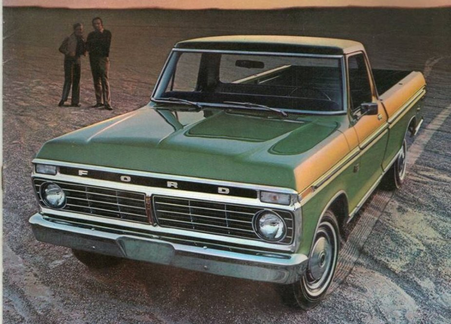 1973 Ford Truck Ad Image