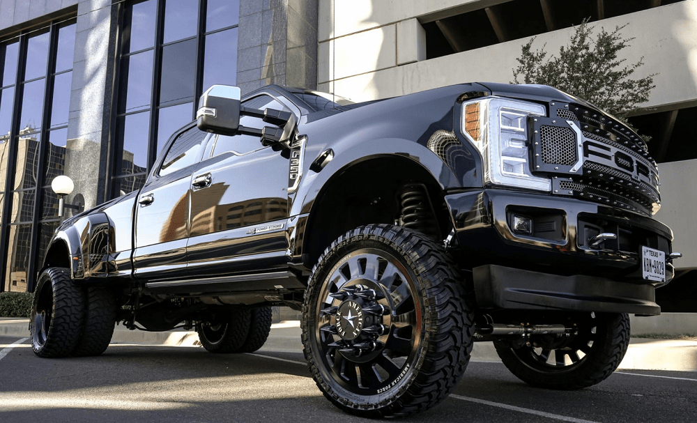 Blacked Out Ford F 350 Super Duty Is The King Of The Paved Streets