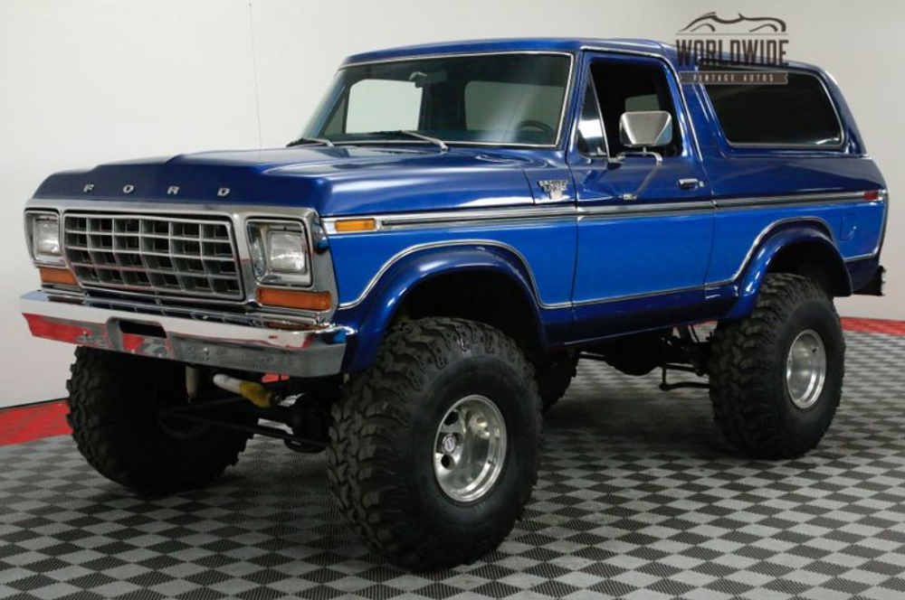 1978 Ford Bronco: Big, Bad, And Very Blue