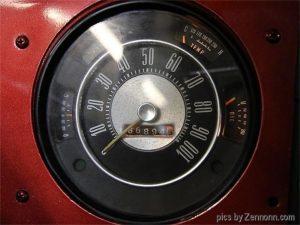 1973 Ford Bronco odometer