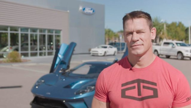 John Cena Ford GT