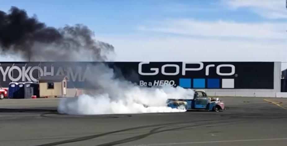 1949 F1 burnout