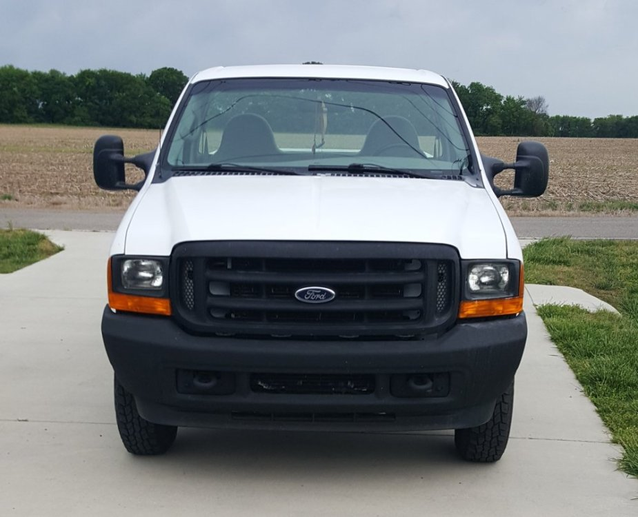 2001 F-250 Front End