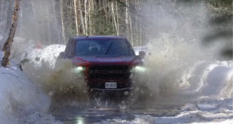 Ford Truck Enthusiasts - Ford Raptor Masters Form and Function On Punishing Winter Track