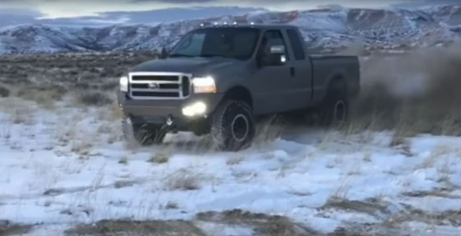 Ford Super Duty Donuts