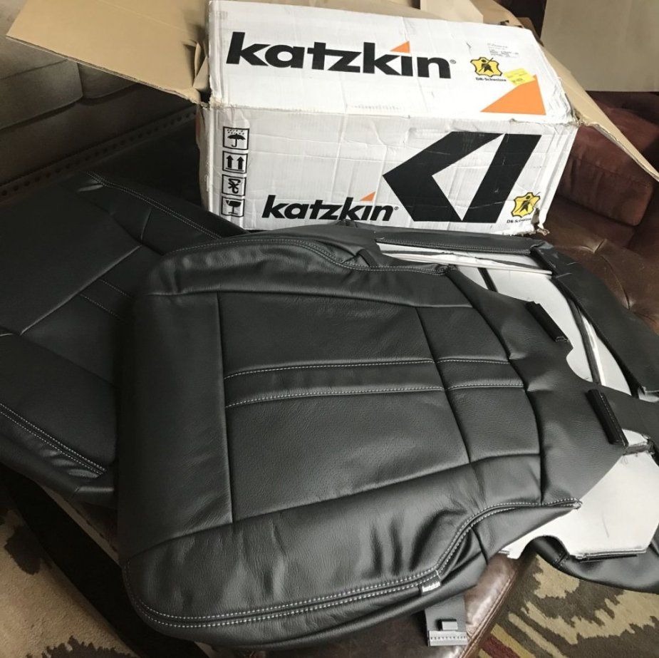 Diy Katzkin Leather Seat Cover Install Ford Trucks Com