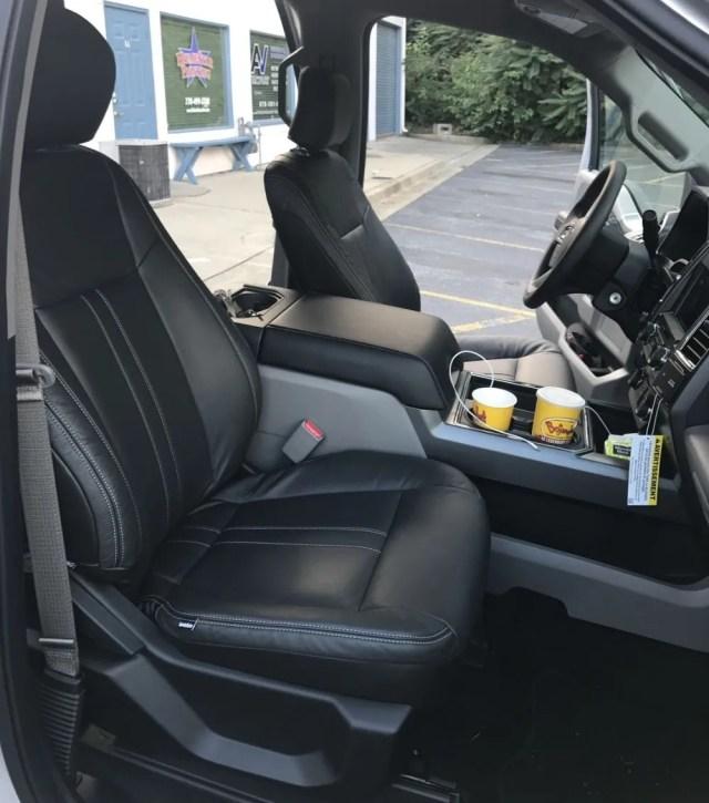 Katzkin Ford Front Seats