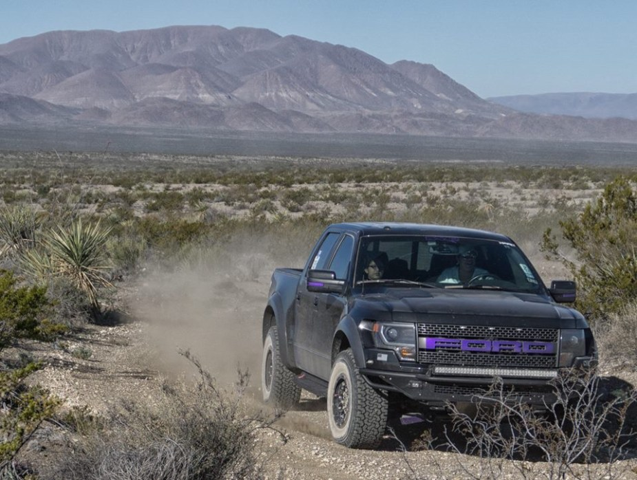 2014 Ford Raptor purple