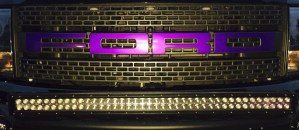 2014 Ford F-150 Raptor purple Grill