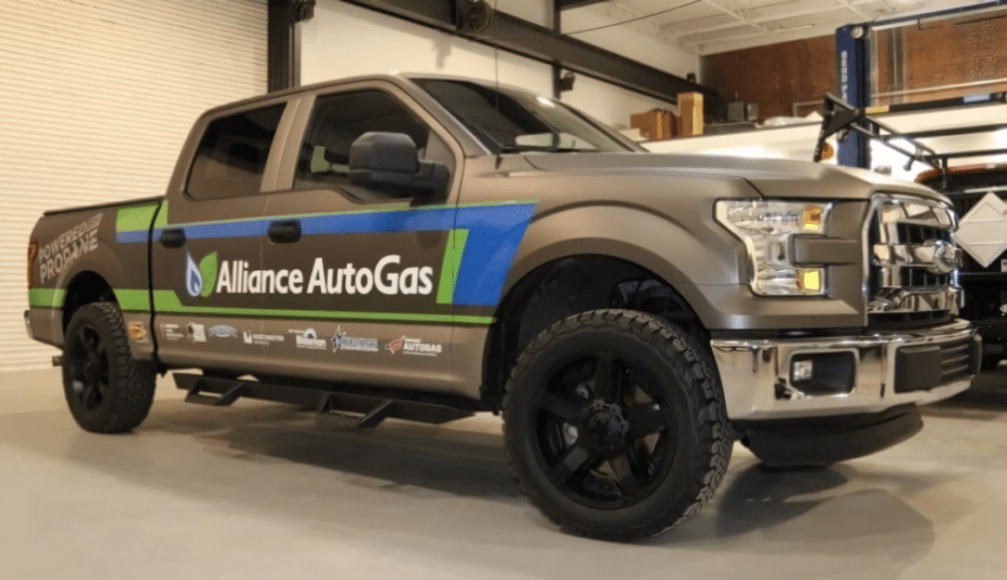 AAG F-150 Runs on Propane
